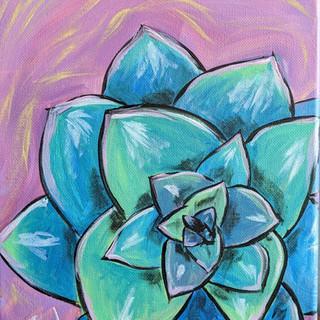 Canvas - Succulent