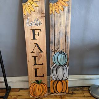 Porch Sign - Fall Variatons