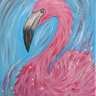 Canvas - Flamingo