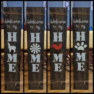 Porch Sign - HOME