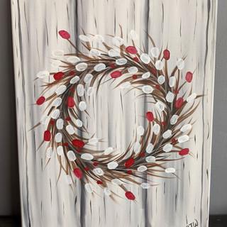 Canvas - Wreath