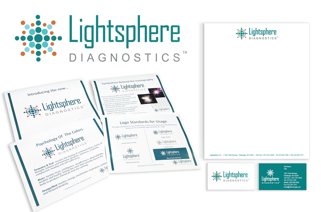Lightsphere Diagnostics Branding
