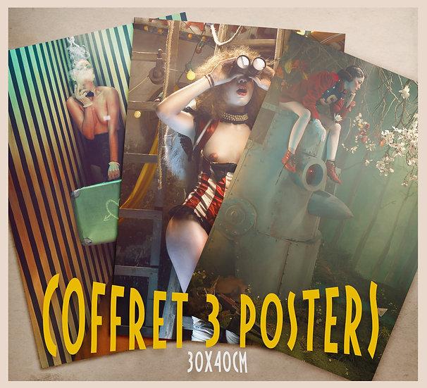 Coffret 3 Posters