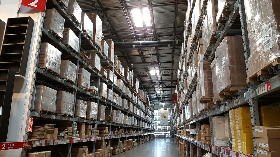 Warehouse using Custella's inventory management feature