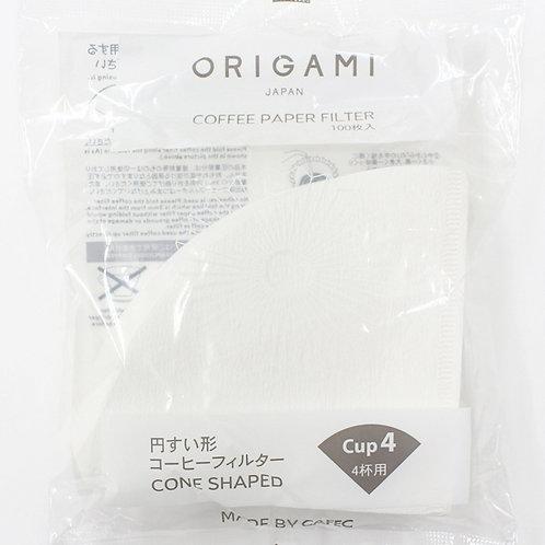 Origami papírové filtry M