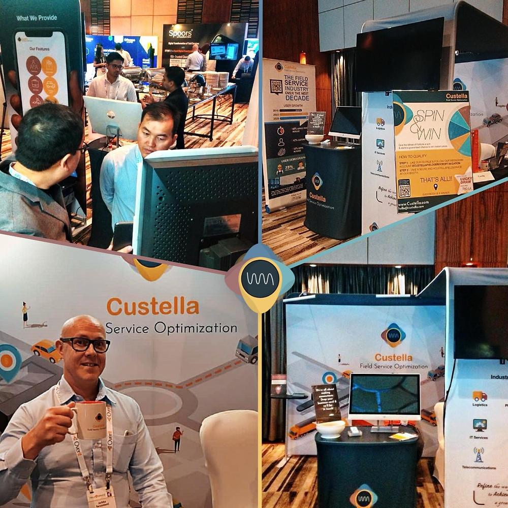 Field workforce management software Custella at Field Service Asia 2019