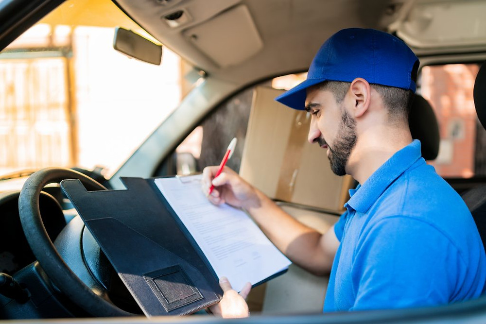 Driver needing a driving route planner