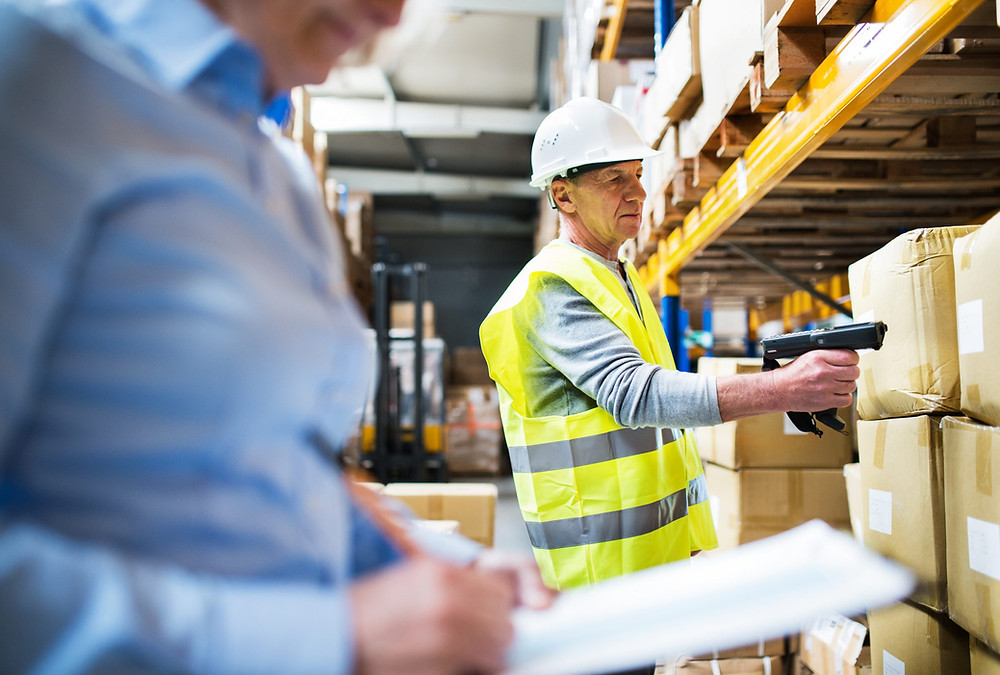 Warehouse manager using RFID Asset Tracking and Asset Management Software Custella