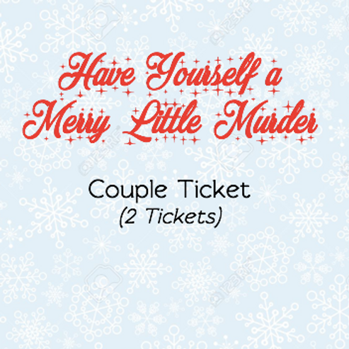 Couple Ticket - Murder Mystery Fundraiser