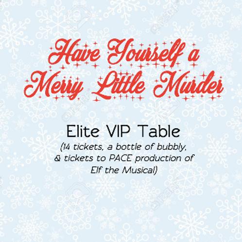 Elite VIP Table - Murder Mystery Fundraiser (14 tickets & extra perks!)