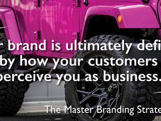 The Master Branding Strategy Part II: CONSISTENCY