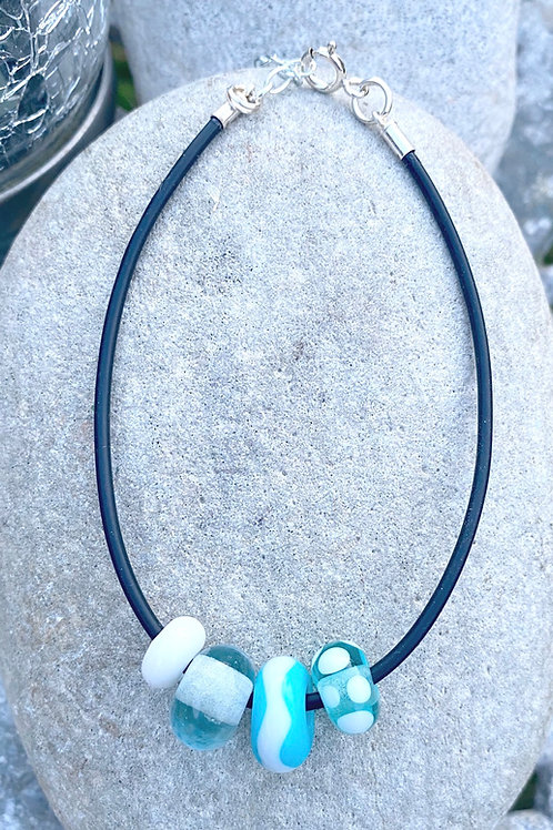 Turquoise Sea with Surf Bracelet