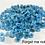 Thumbnail: CoE 90 Bright Blue-Forget-Me-Not Glass Murrini