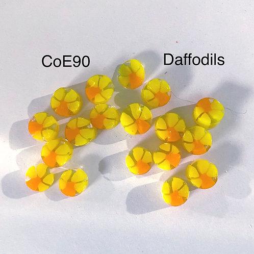 CoE90 Daffodil Glass Murrini