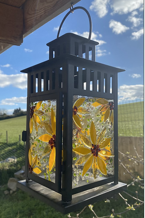 Large Sunflower Lantern