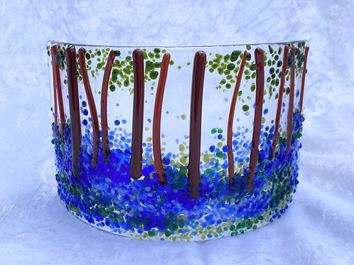 Bluebell Wood Glass Arc