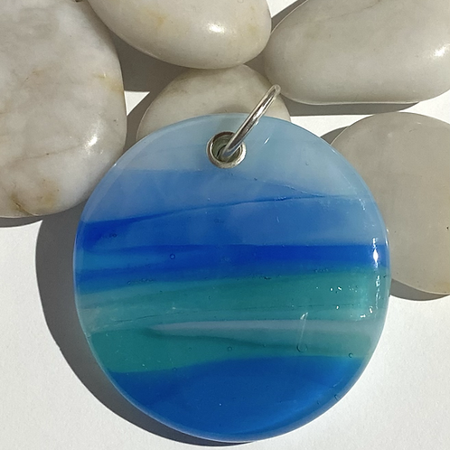 Unique Dorset Seascape Pendant