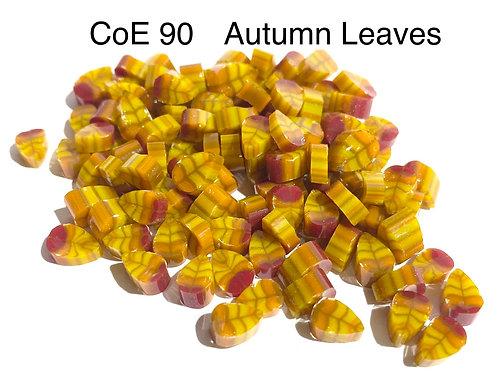 CoE 90 Autumn Leaves Glass Murrini