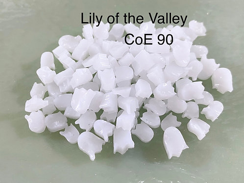 CoE 90 Lily of the Valley Glass Murrini