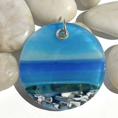 Unique Dorset Seascape Pendant