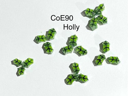 CoE 90 Holly Leaves