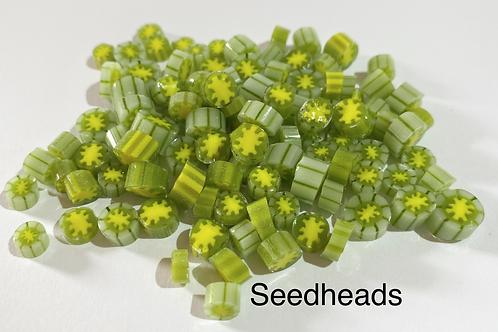 CoE 90 Seedhead Glass Murrini for Glass Artists
