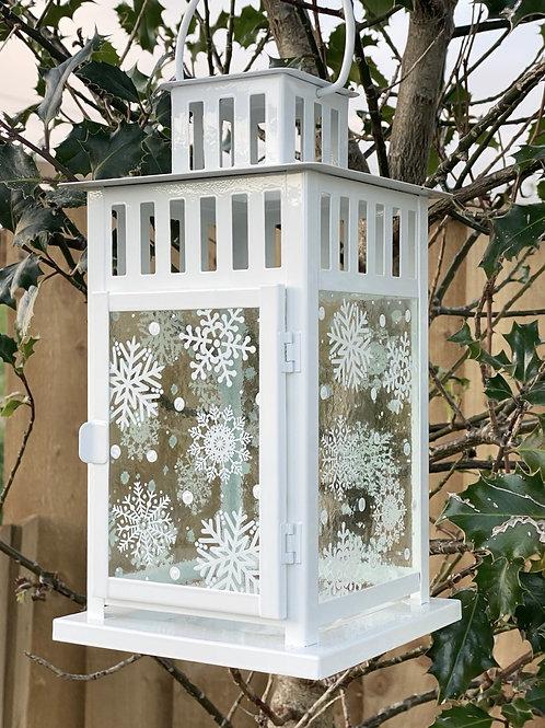 Large Snowflake Lantern