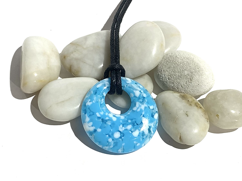 Circular Glass Pendant