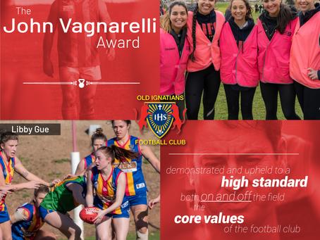John Vagnarelli Award March 2020