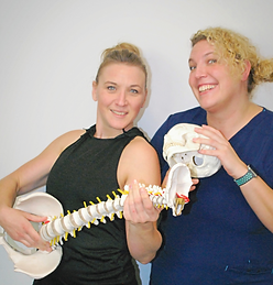 Osteopath, sports massage therapist nutrition coach