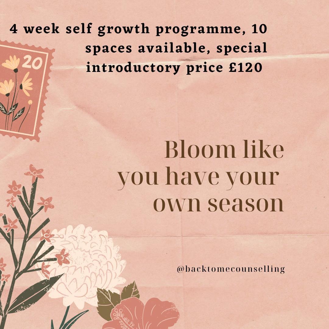 4 Week Self Growth Programme
