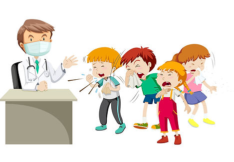 doctor-and-many-sick-children-vector-992