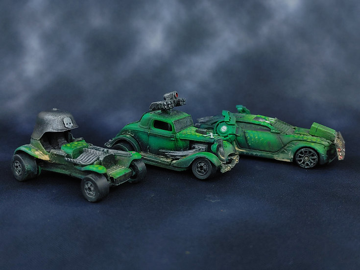 Gaslands (OSPREY GAMES) Starting Team & Book