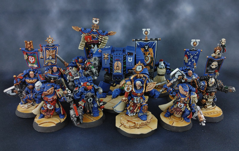 CLASSIC DAVE TAYLOR (GW) WH40K Ultramarines