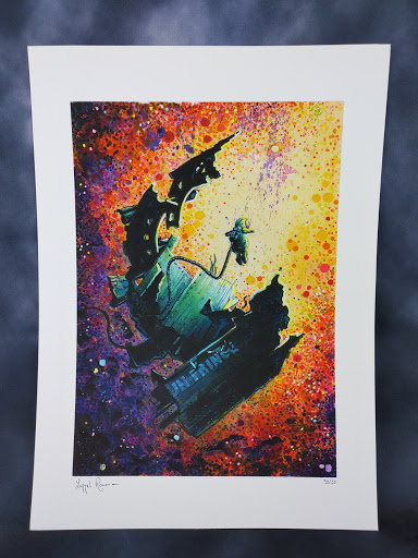 Floating (Roman Lappat) Limited Edition Print