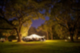Tent in Lights