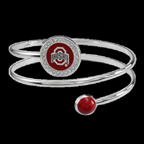 Ohio State Bell Bracelet