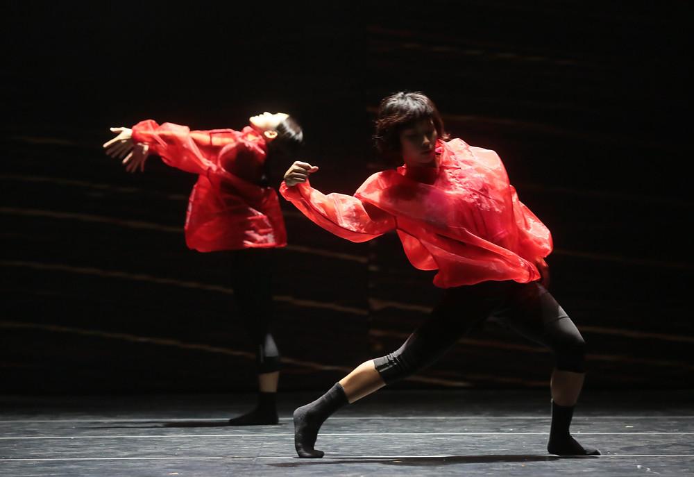城市當代舞蹈團《思纏想後》 編舞:黃狄文 攝影:張志偉