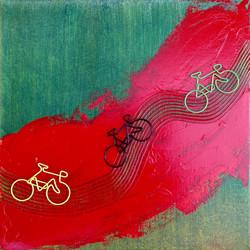 "New York Series ""Bikes"" Central Park"