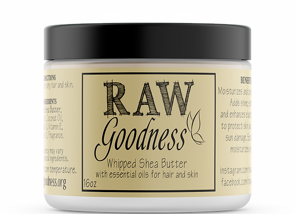 Whipped Shea Butter 16 oz