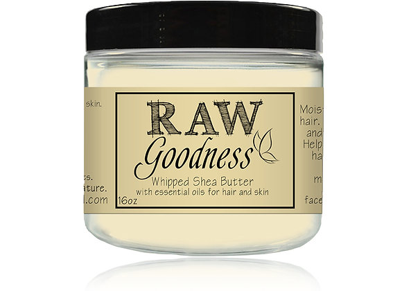 Whipped Shea Butter 16 oz Wholesale
