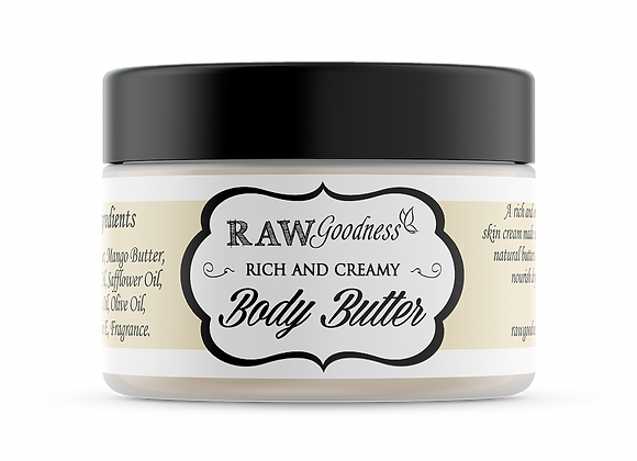 Body Butter 8 oz - Wholesale
