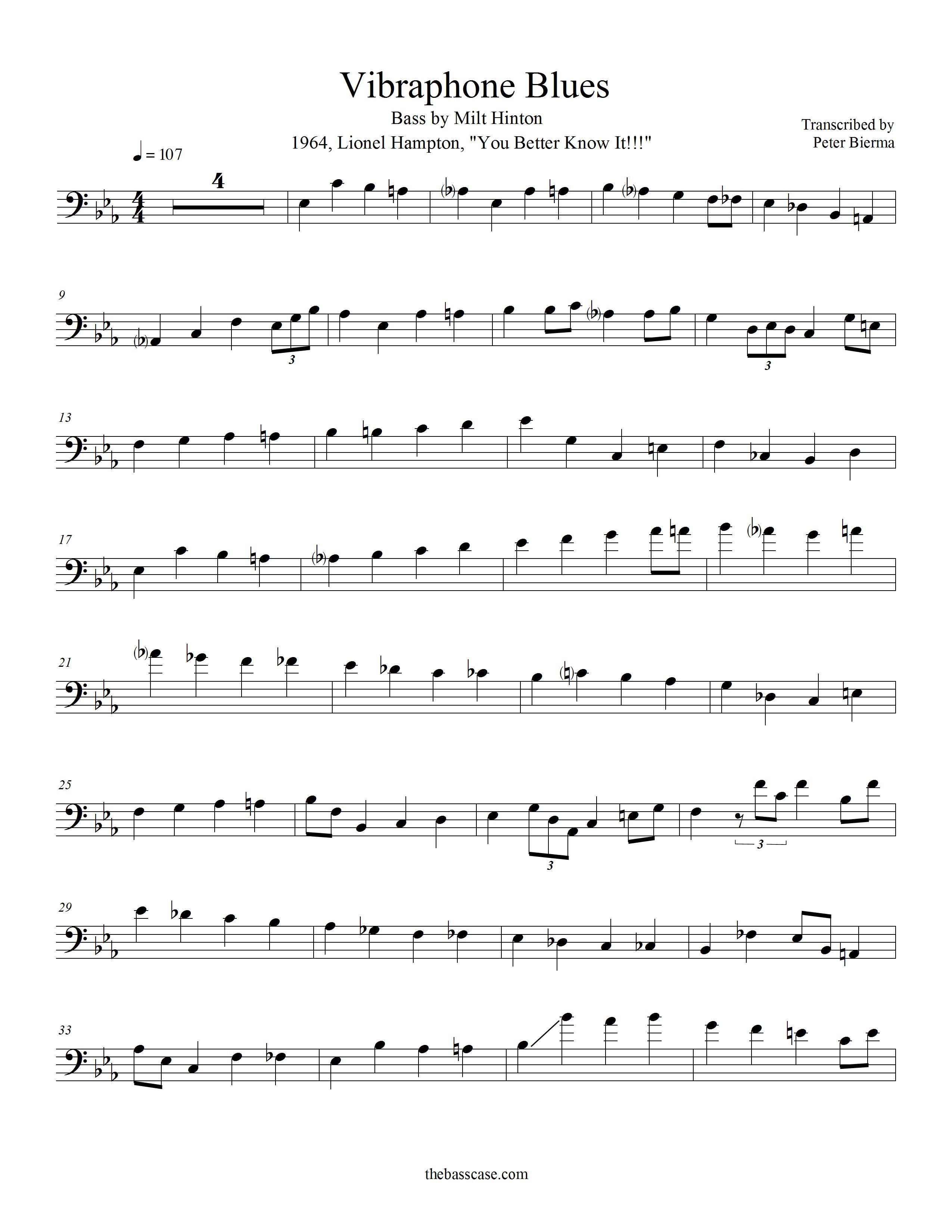 Easy Jazz Trumpet Solo