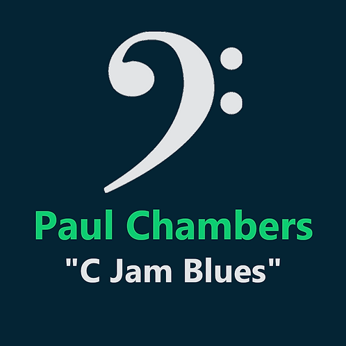 Paul Chambers - C Jam Blues - 10 Pages