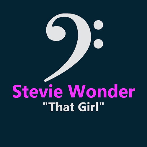 Stevie Wonder - That Girl - 3 Pages