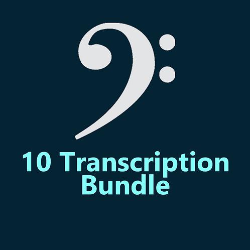 10 Transcription Bundle