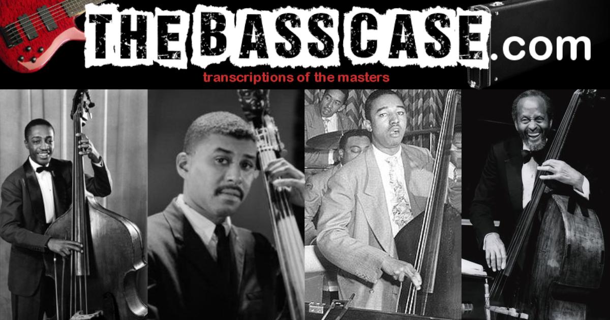 thebasscase | free bass transcriptions
