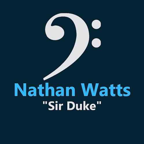Nathan Watts - Sir Duke - 3 Pages
