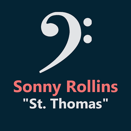 Sonny Rollins - St. Thomas - 4 pages