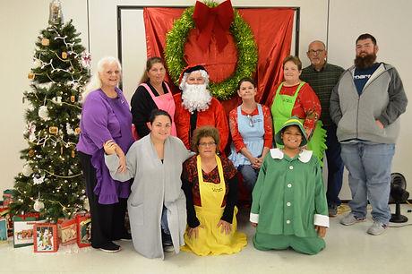 volunteers at Breakfast with santa.JPG